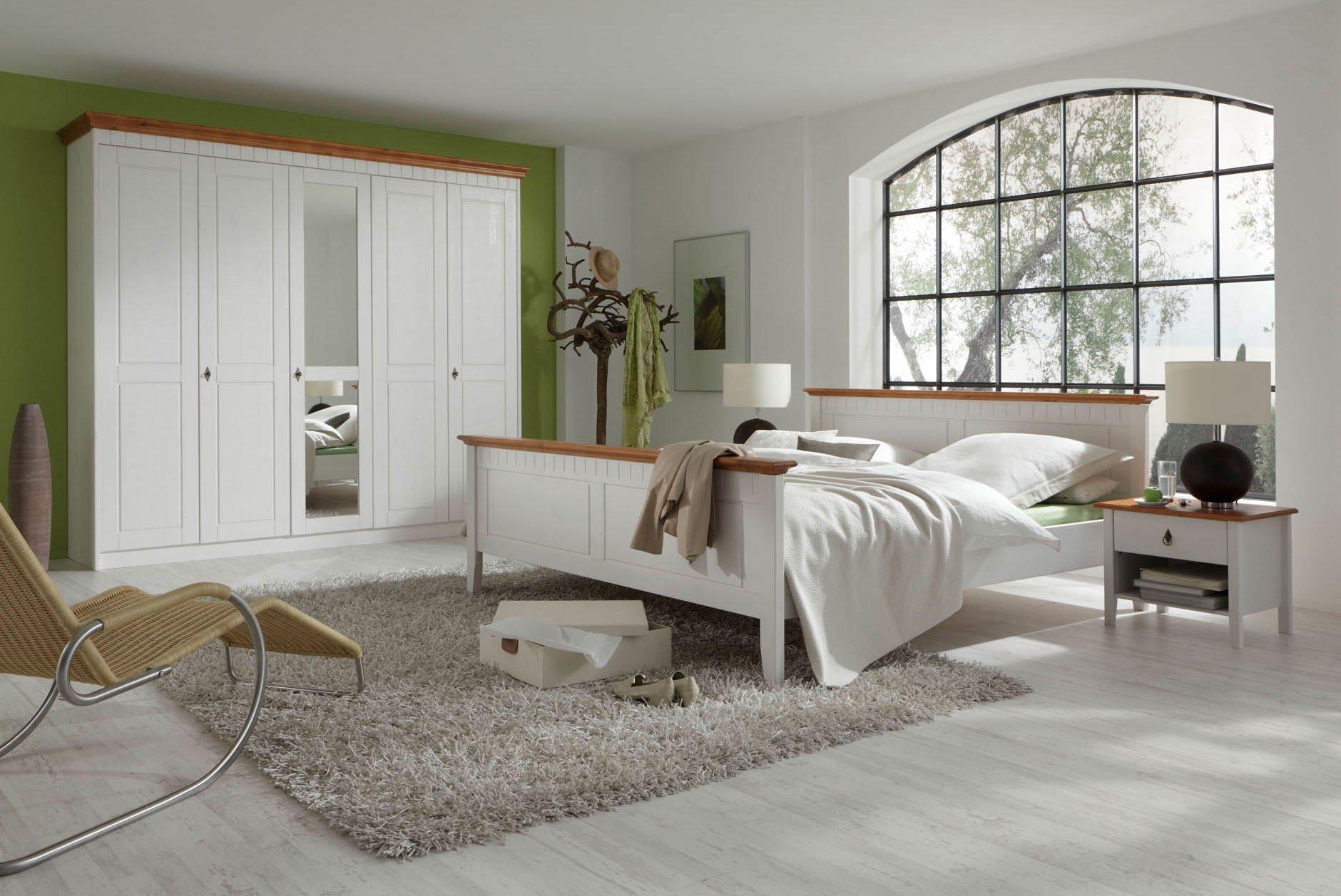 Forestdream Capri KomplettSchlafzimmer Kiefer wei