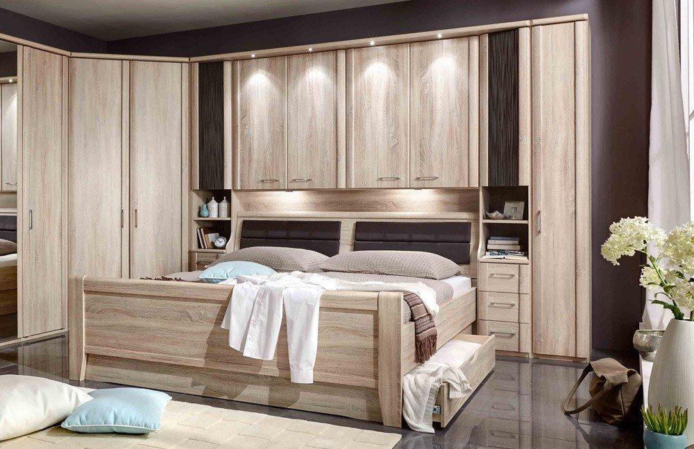 Schlafzimmer Komplett Mit überbau