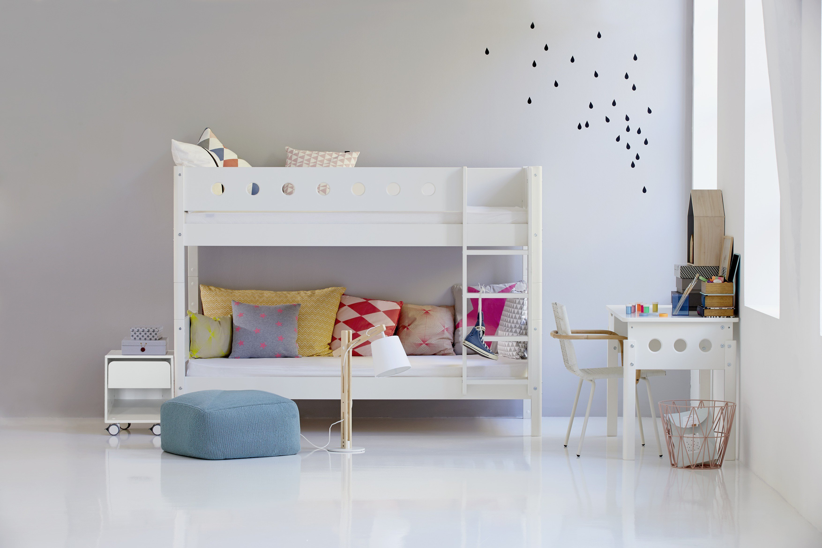 Flexa White Etagenbett Weiß  Möbel Letz  Ihr Onlineshop