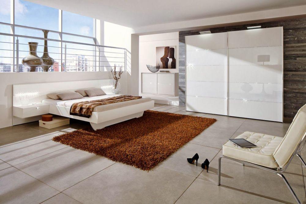 Starlight von Nolte Delbrck Schlafzimmer wei 2