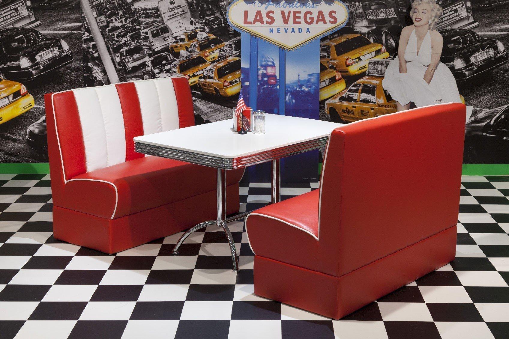 Diner Küche Kaufen  Küche 17er Jahre Style  American Diner Möbel
