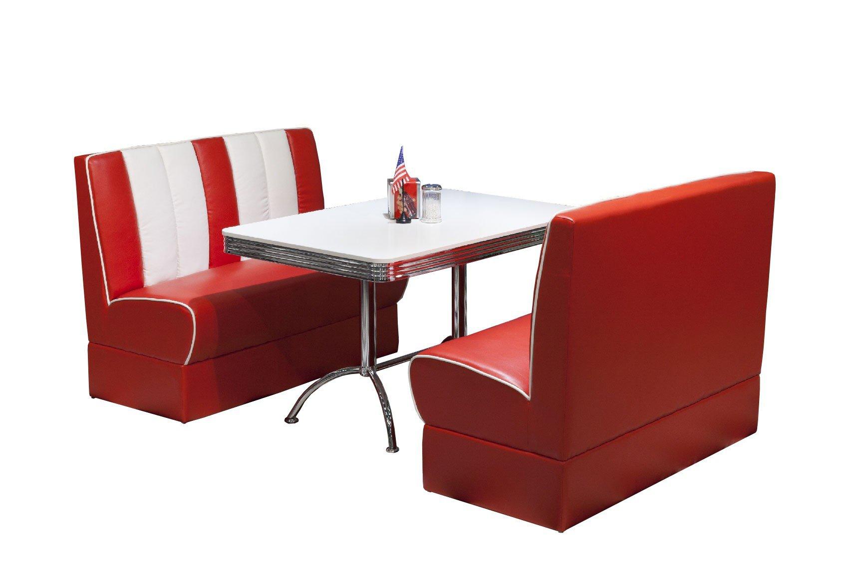 American Diner Esszimmer in RotWei von Top Form  Mbel
