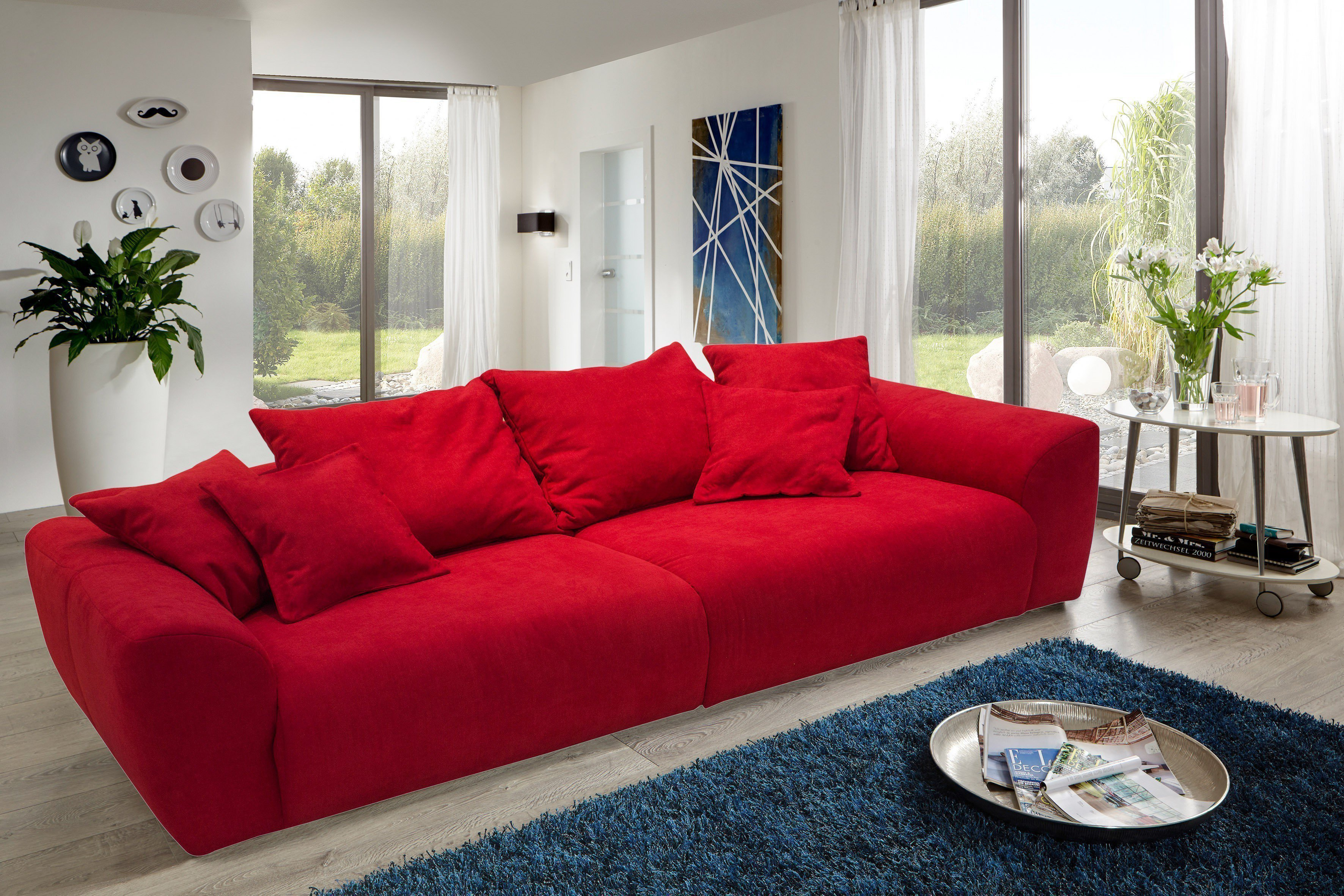 Big Sofa Online Shop Reality Fontana Big Sofa In Rot Möbel Letz Ihr Online Shop