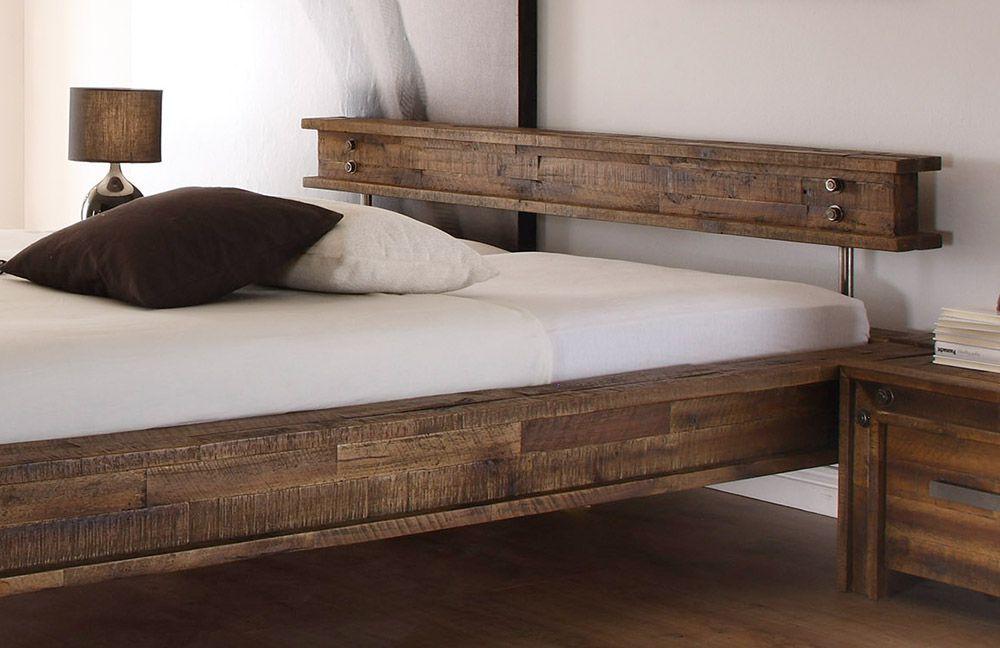 Hasena San Luca Bett Akazie vintage brown  Mbel Letz  Ihr OnlineShop