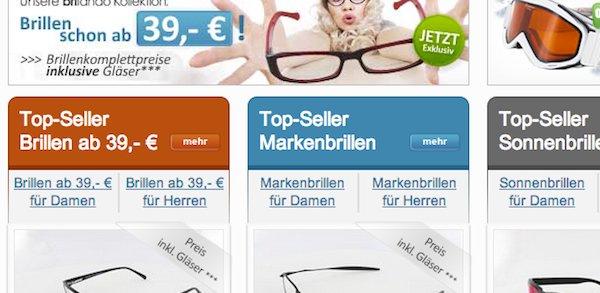 brillenplatz 10 euro gutschein