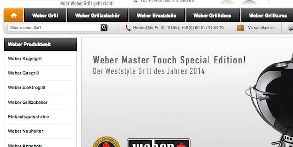 weststyle weber gutschein versandkostenfrei