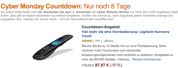 amazon cyber monday 2014 countdown