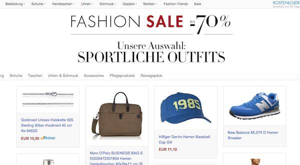 amazon fashion sale 70 prozent rabatt