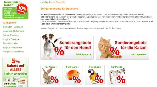 zooplus sale 50 prozent rabatt