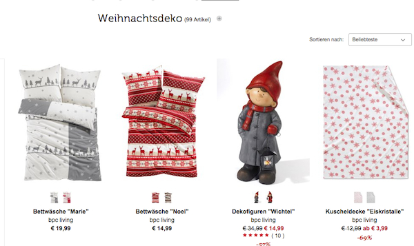 bonprix rabatt 70 prozent gutschein weihnachten