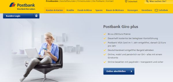 postbank giro plus 250 euro amazon gutschein
