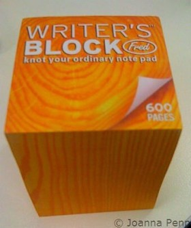 Content marketing and the provervial block