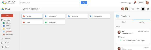 New Look for Google Drive - Spectrum Group Online