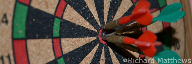seo over-optimization is like playing darts with the target on your chest