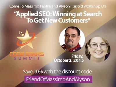 Discount Code for Code Stars Summit Workshop