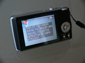 Camera Telling You When Not To Use It