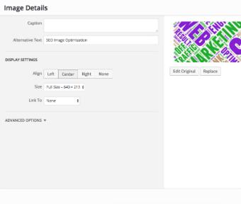 SEO Content Optmization. Check the alt text