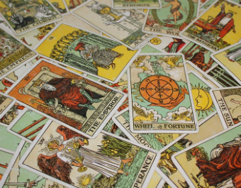 Tarot cards search for meaning