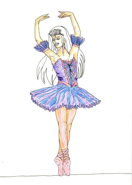Ballerina Einfach Zeichnen  letsgototourclub
