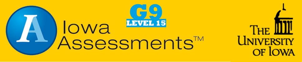 Grade 9 Iowa Assessments
