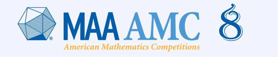 AMC 8 Banner
