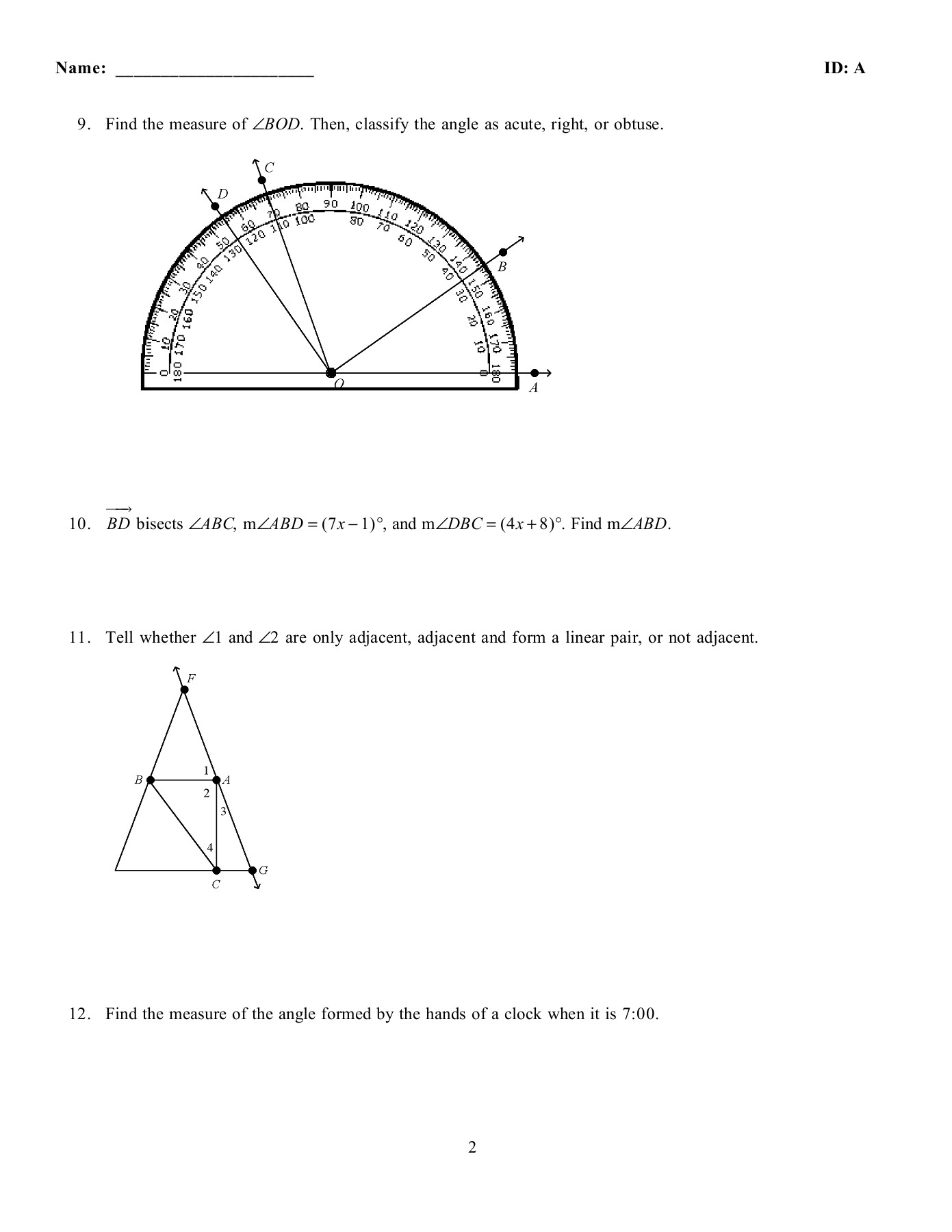 Wiring Diagram Database In Which Diagram Do Angles 1 And