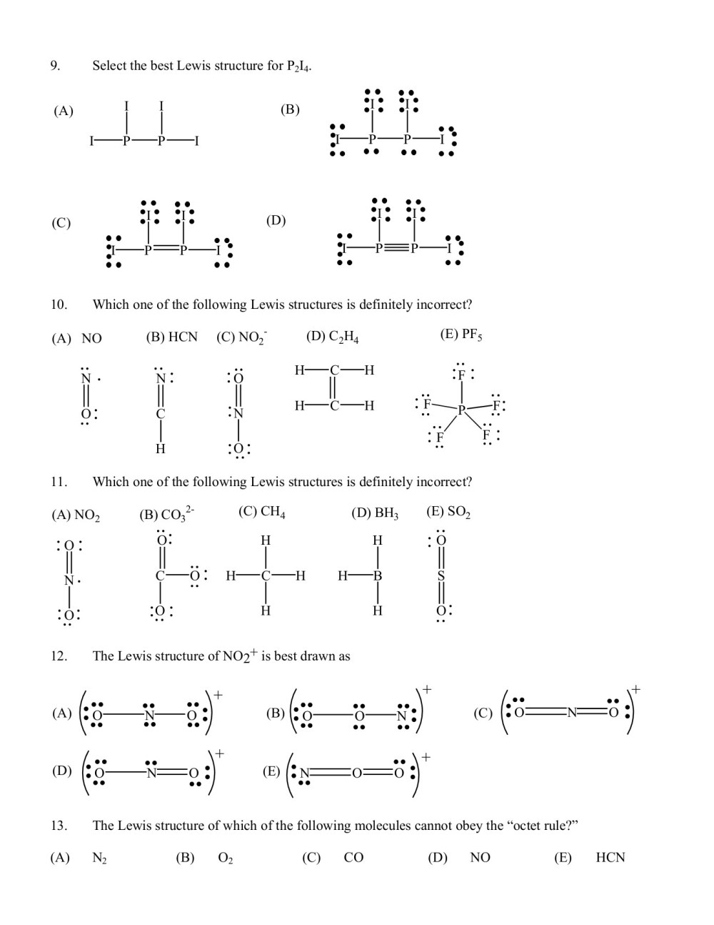 medium resolution of chem 1301 second test review lewis structures pages 1 8 text version anyflip