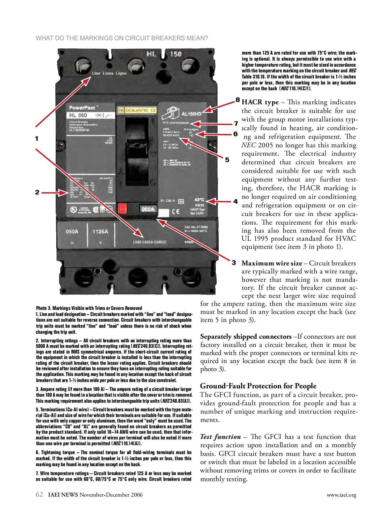 Circuit Breaker Abbreviations : circuit, breaker, abbreviations, Markings, Circuit, Breakers, Mean?, Schneider, Electric-Flip, EBook, Pages, AnyFlip