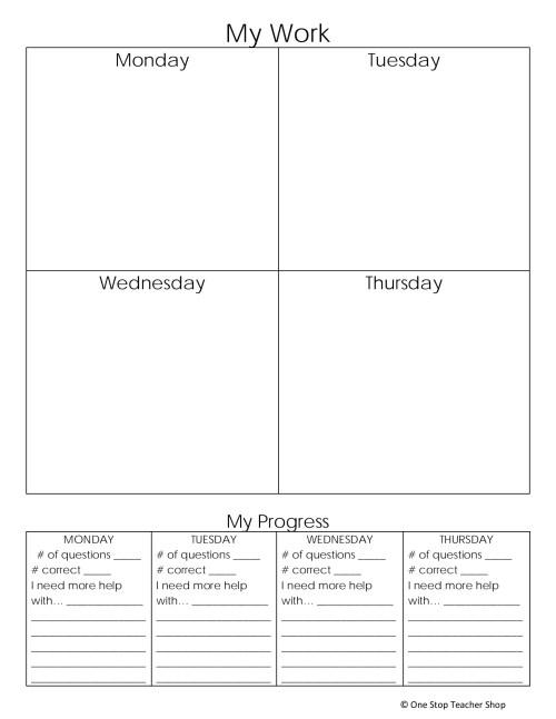 small resolution of 5th Grade Spiral Homework