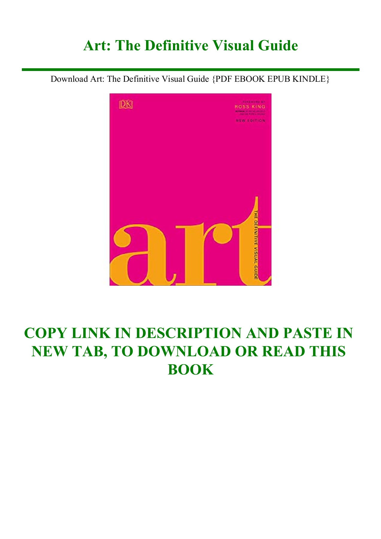 Art The Definitive Visual Guide : definitive, visual, guide, Download, Definitive, Visual, Guide, EBOOK, KINDLE}-igfqbnkihzefr, AnyFlip