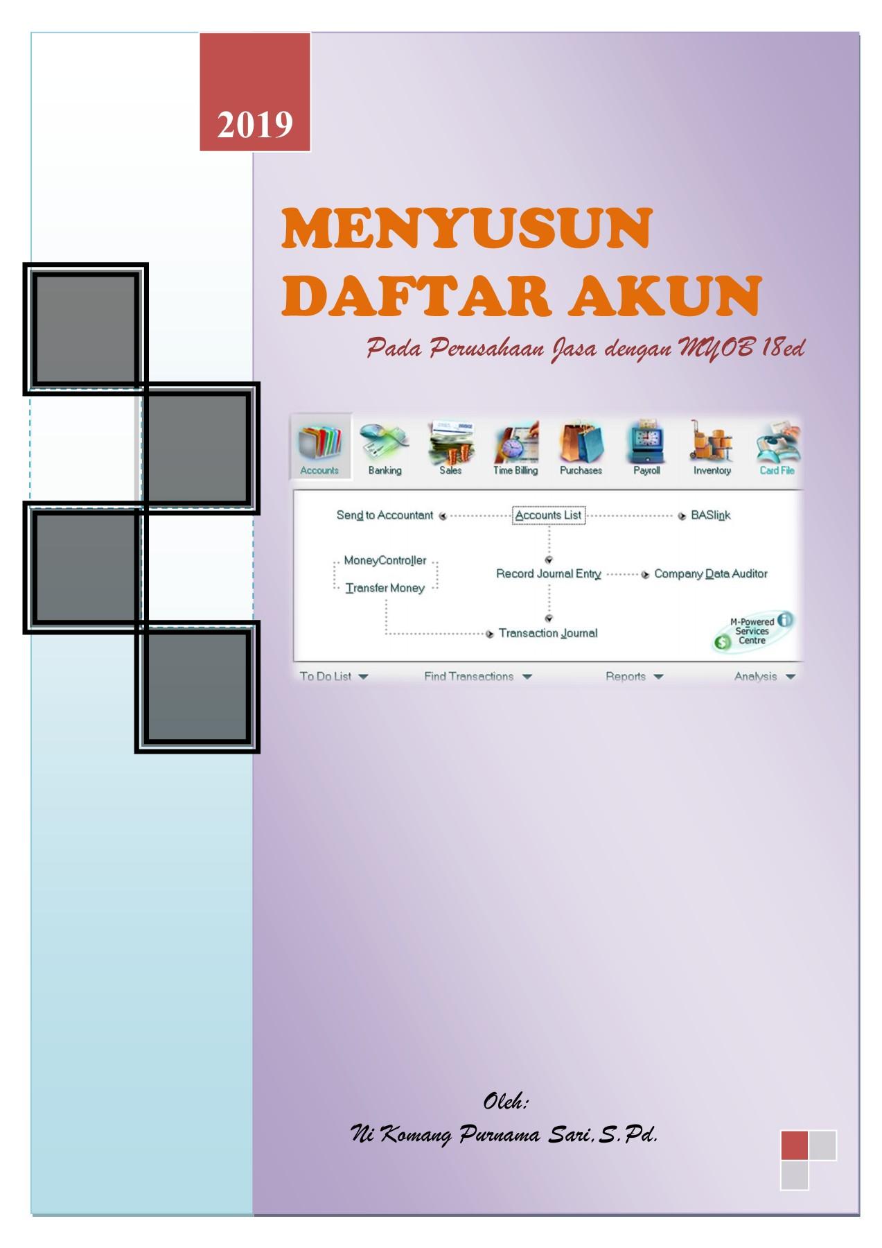 Klasifikasi Akun Pada Myob Accounting Versi 18 : klasifikasi, accounting, versi, BAHAN, MENYUSUN, DAFTAR, AKUN-Flip, EBook, Pages, AnyFlip
