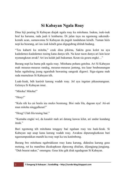 Dongeng Sunda Si Kabayan : dongeng, sunda, kabayan, Dongeng, Kabayan