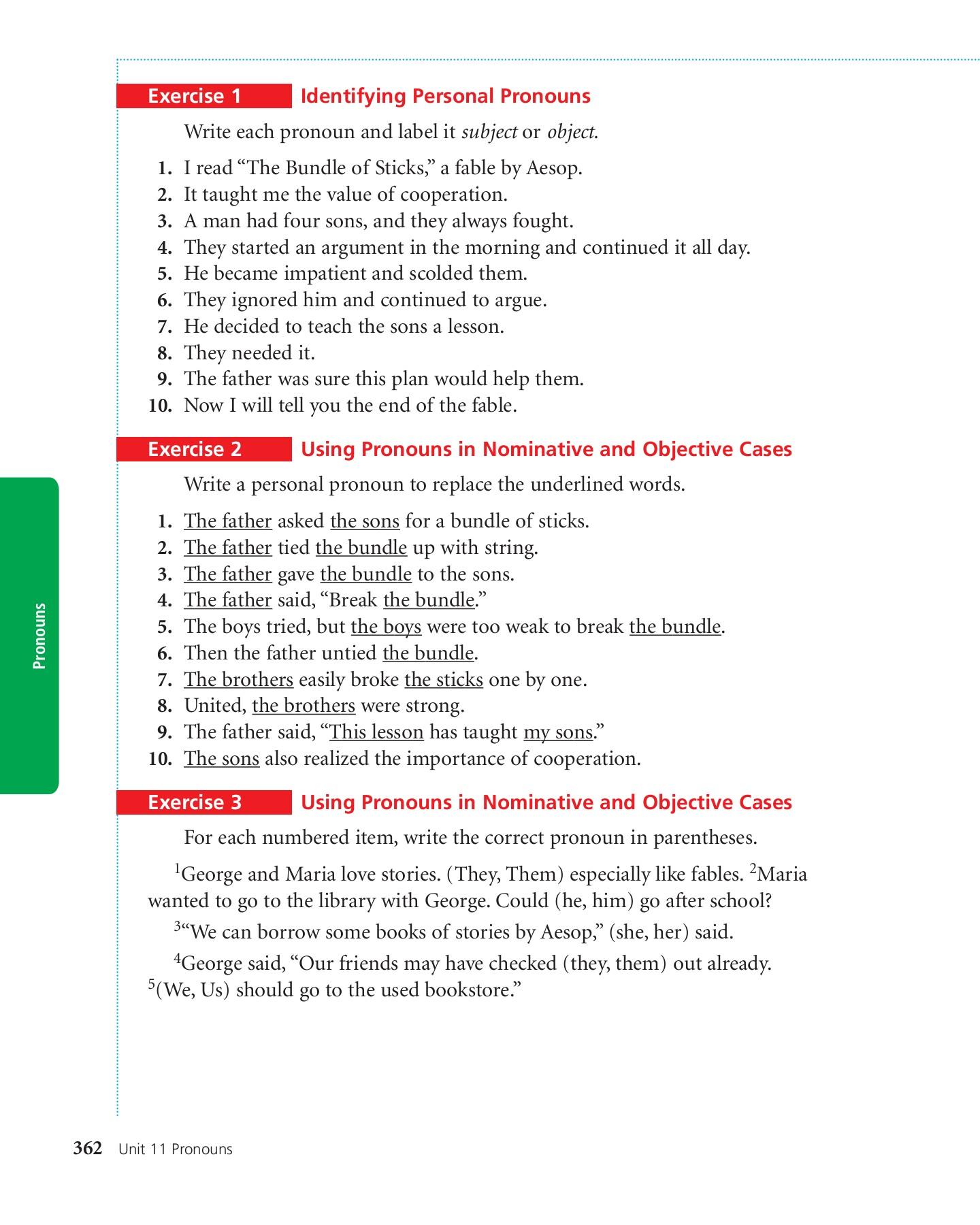 hight resolution of 11 UNIT Pronouns - pc mac-Flip eBook Pages 1 - 18  AnyFlip   AnyFlip