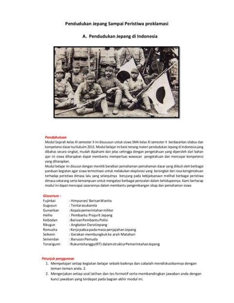 Latar Belakang Jepang Ingin Menguasai Indonesia Adalah : latar, belakang, jepang, ingin, menguasai, indonesia, adalah, Rangkuman, Pendudukan, Jepang-Flip, EBook, Pages, AnyFlip