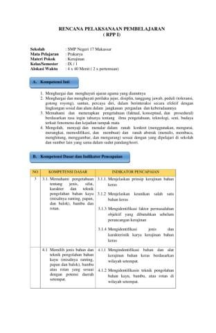 Kerajinan Bahan Keras Nusantara : kerajinan, bahan, keras, nusantara, 388979567-RPP-KERAJINAN-KLS-9-3-1-4-1-Flip, EBook, Pages, AnyFlip