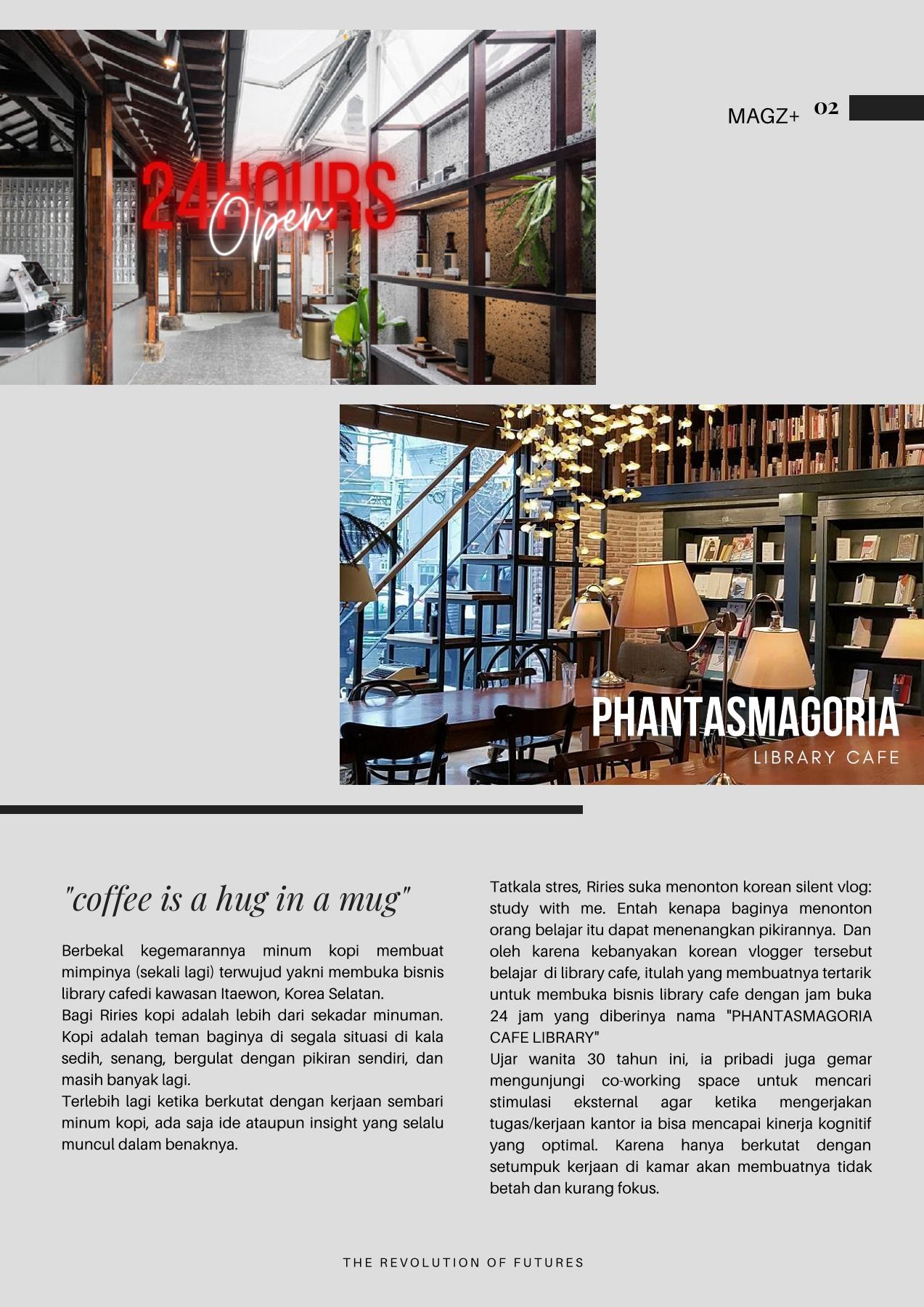 Ide Nama Cafe : MAGZ+, (1)-Riries, Sitoresmi, AnyFlip