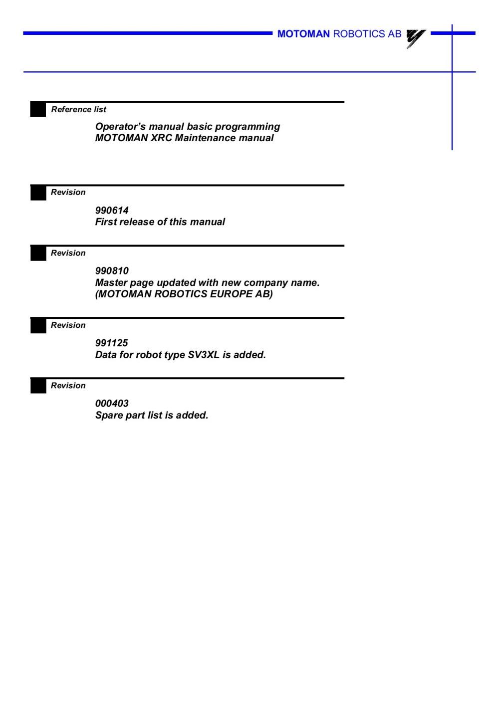 medium resolution of array motoman xrc user manual ebook rh motoman xrc user manual ebook bitlab solutions