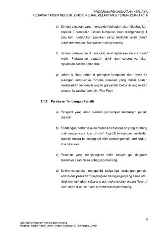 Peraturan Tendangan Penalti : peraturan, tendangan, penalti, Peraturan, Pertandingan, Sukan, Futsal