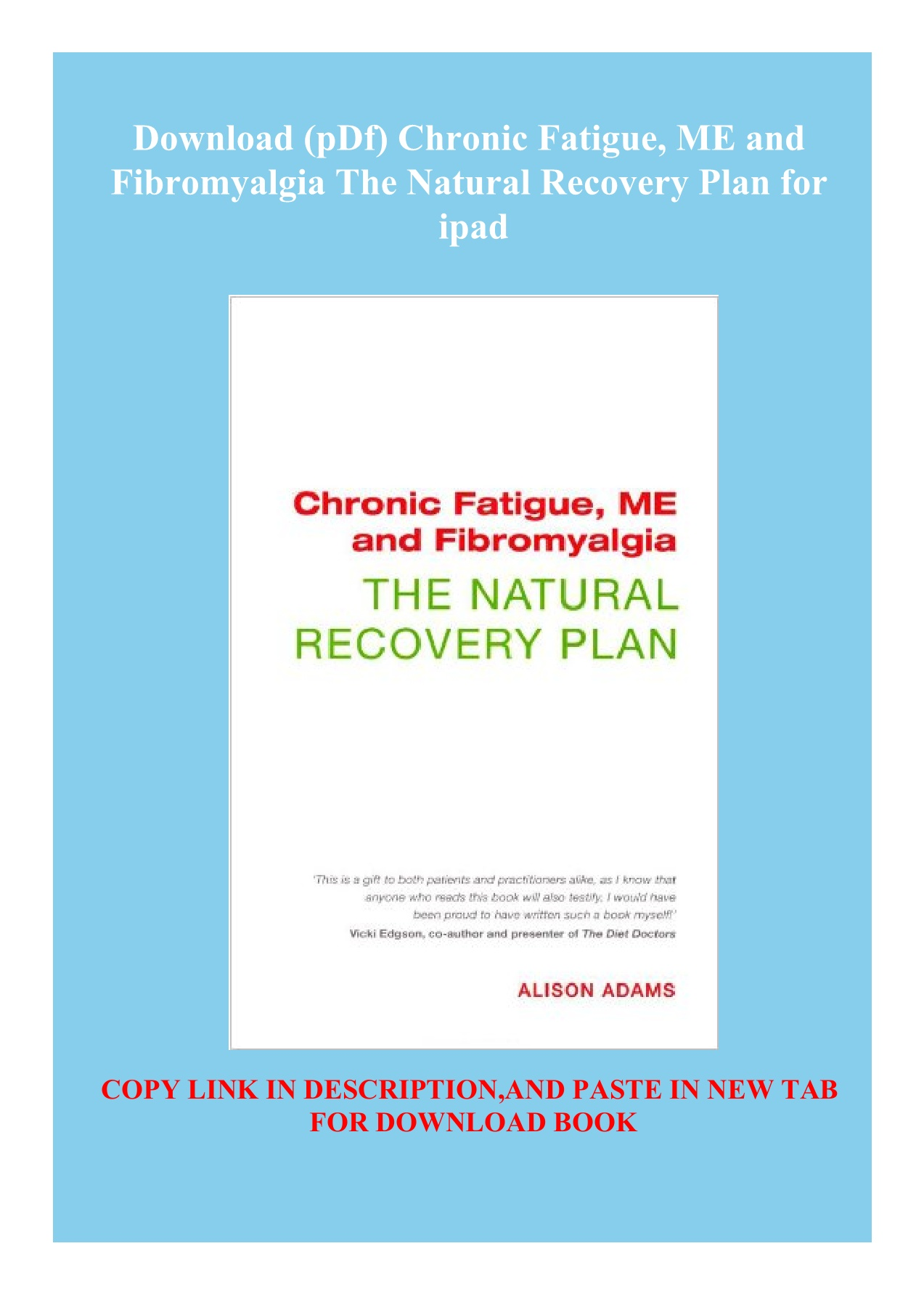Fibromyalgia Diet Plan Pdf : fibromyalgia, Download, (pDf), Chronic, Fatigue, Fibromyalgia, Natural, Recovery