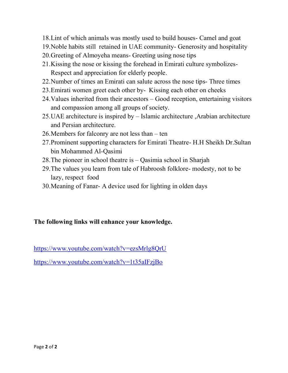 medium resolution of UAE SST Gr. 5 culture and heritage (1)-Flip eBook Pages 1 - 2  AnyFlip    AnyFlip