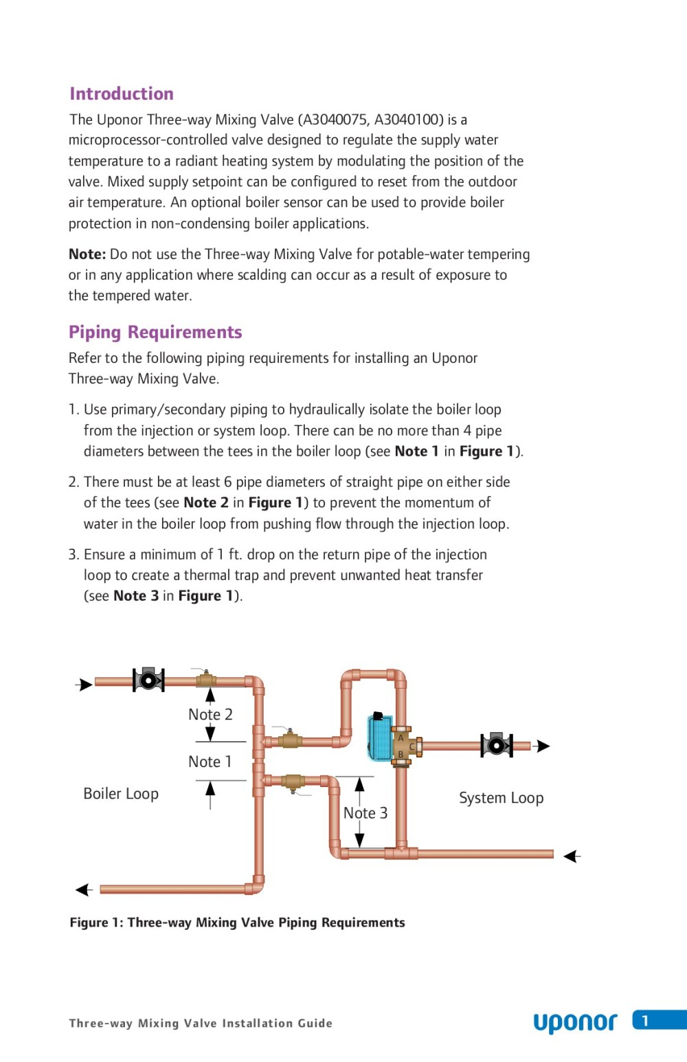 medium resolution of three way mixing valve installation guide uponor pro pages 1 18 text version anyflip