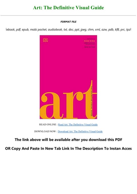 Art The Definitive Visual Guide : definitive, visual, guide, E-book, Download, Definitive, Visual, Guide