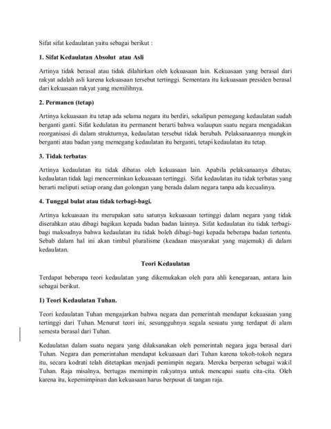 Sifat Sifat Kedaulatan : sifat, kedaulatan, BENTUK, KEDAULATAN, NEGARA, Pages, Version, AnyFlip
