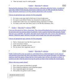 Sixth Grade (Grade 6) Main Idea Worksheets - Create ... [ 1800 x 1391 Pixel ]
