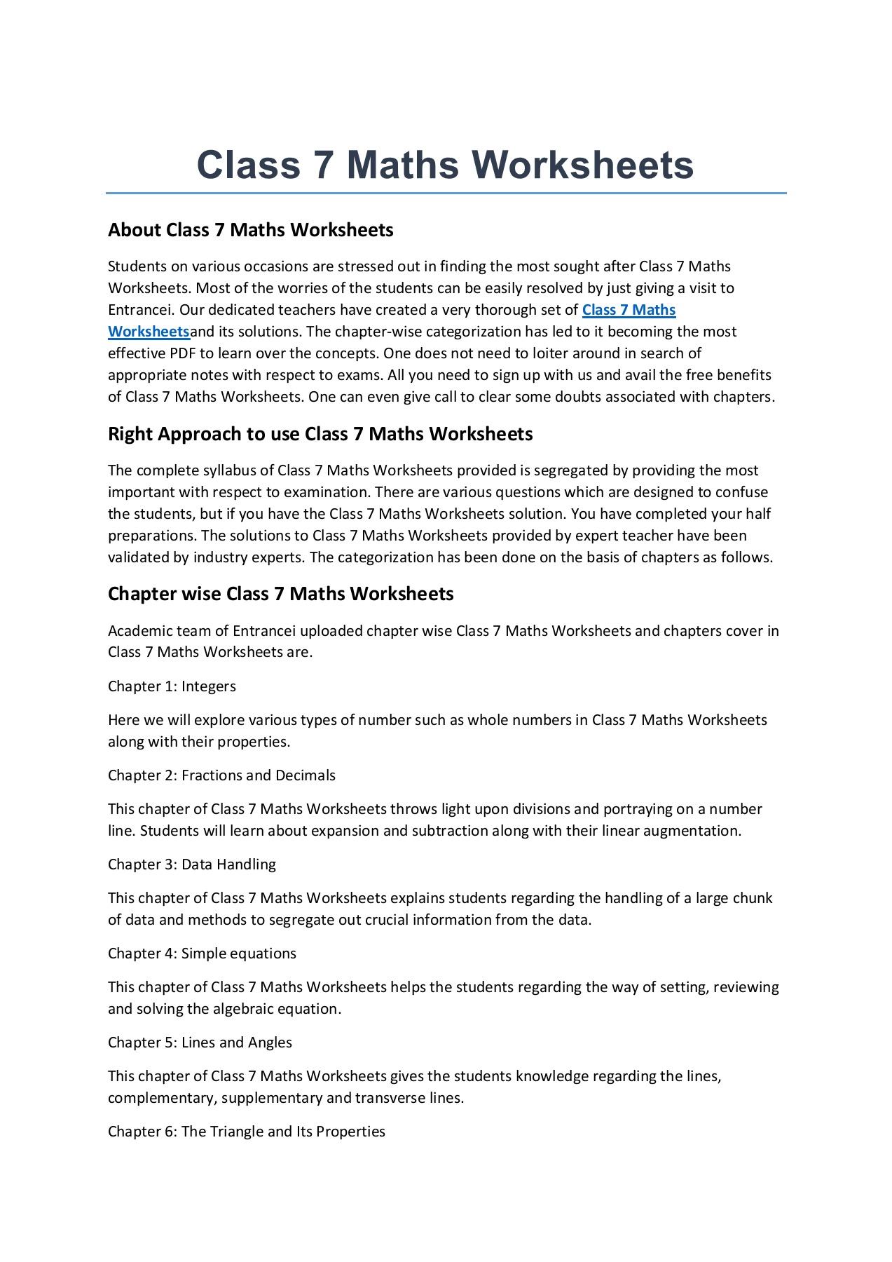 Class 7 Maths Worksheets-Flip eBook Pages 1 - 3  AnyFlip   AnyFlip [ 1800 x 1273 Pixel ]