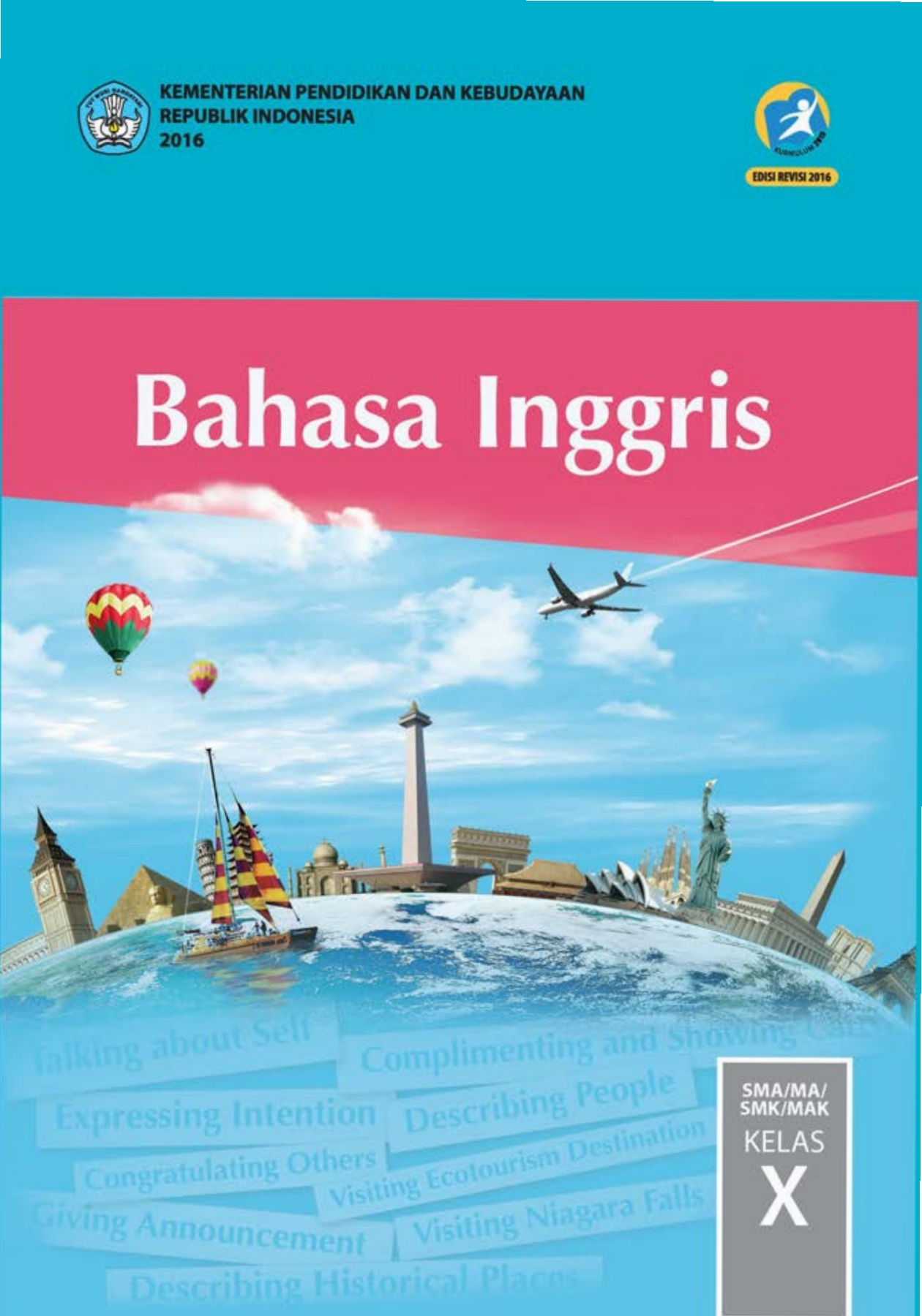 Bahasa Inggris 2016 : bahasa, inggris, Bahasa, Inggris, Kelas, X-Flip, EBook, Pages, AnyFlip