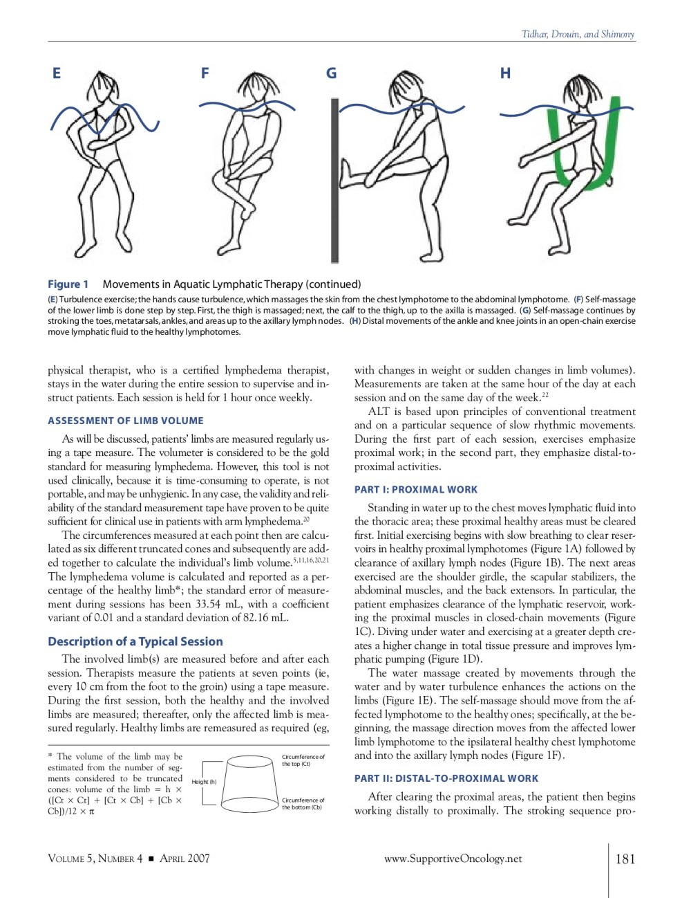 medium resolution of aqua lymphatic therapy in managing lower extremity lymphedema pages 1 5 text version anyflip