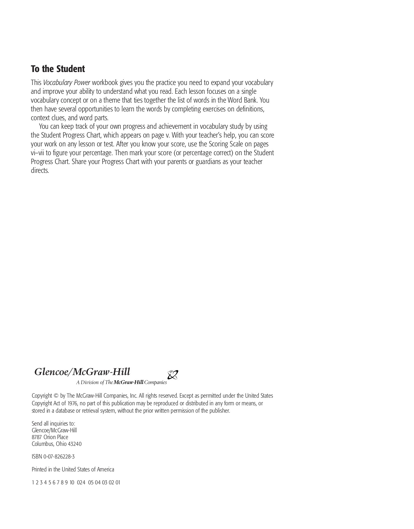 Glencoe Mcgraw Hill Science Grade 8 Worksheets Answers