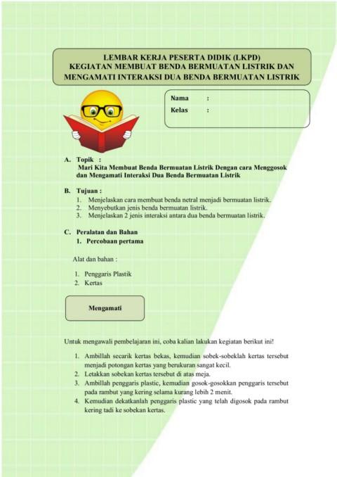 Cara Membuat Benda Bermuatan Listrik : membuat, benda, bermuatan, listrik, Siklus, LKPD-Flip, EBook, Pages, AnyFlip