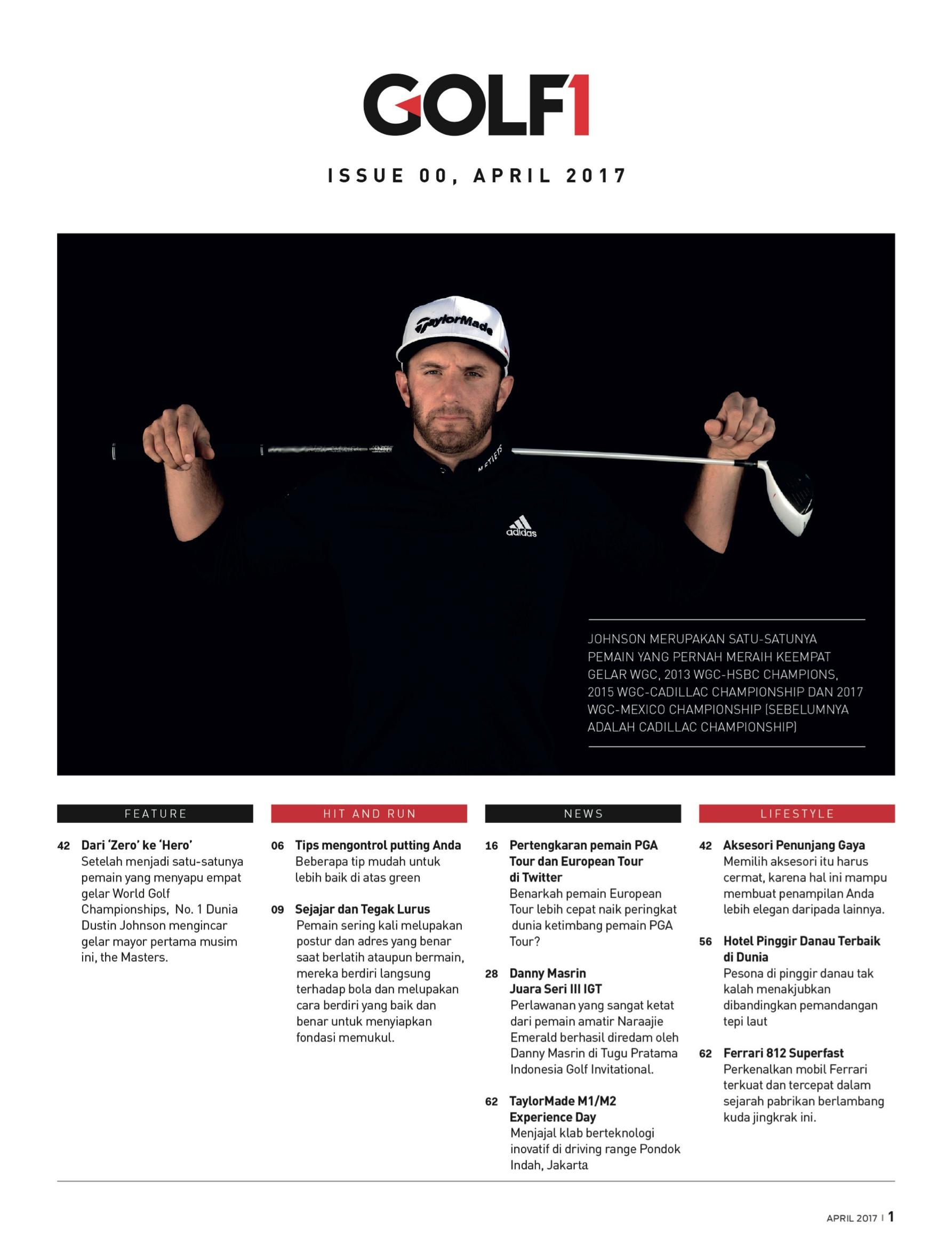 Cara Memukul Bola Golf Yang Benar : memukul, benar, Golf1.indd
